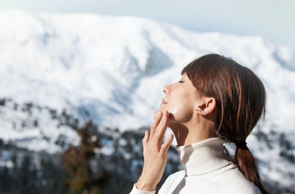 Sonnenschutz im Winter